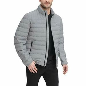 DKNY Men's Water Resistant Ultra Loft Quilted Pack